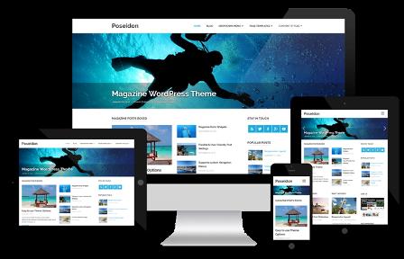 10 Tema WordPress Gratis Terbaik - Best Free WP Themes - Contoh Blog