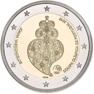 2€ Jeux Olympiques de Rio de Janeiro 2016