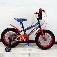 16 element avengers war machine lisensi bmx