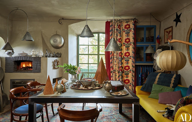 Unusual and unforgettable interior photographed by Oberto Gili
