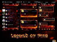 bbm mod Droid Chat Legend of fire v10.3.14 Apk Mod Terbaru