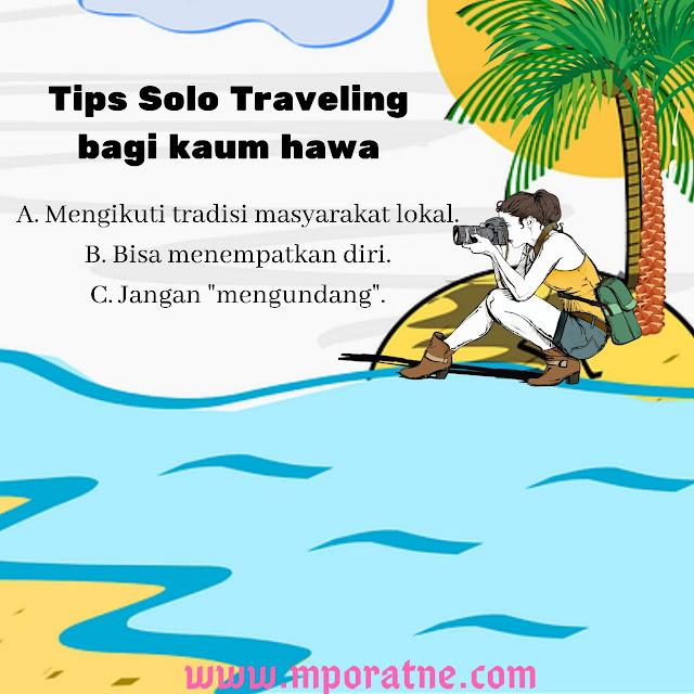 Tips untuk traveling