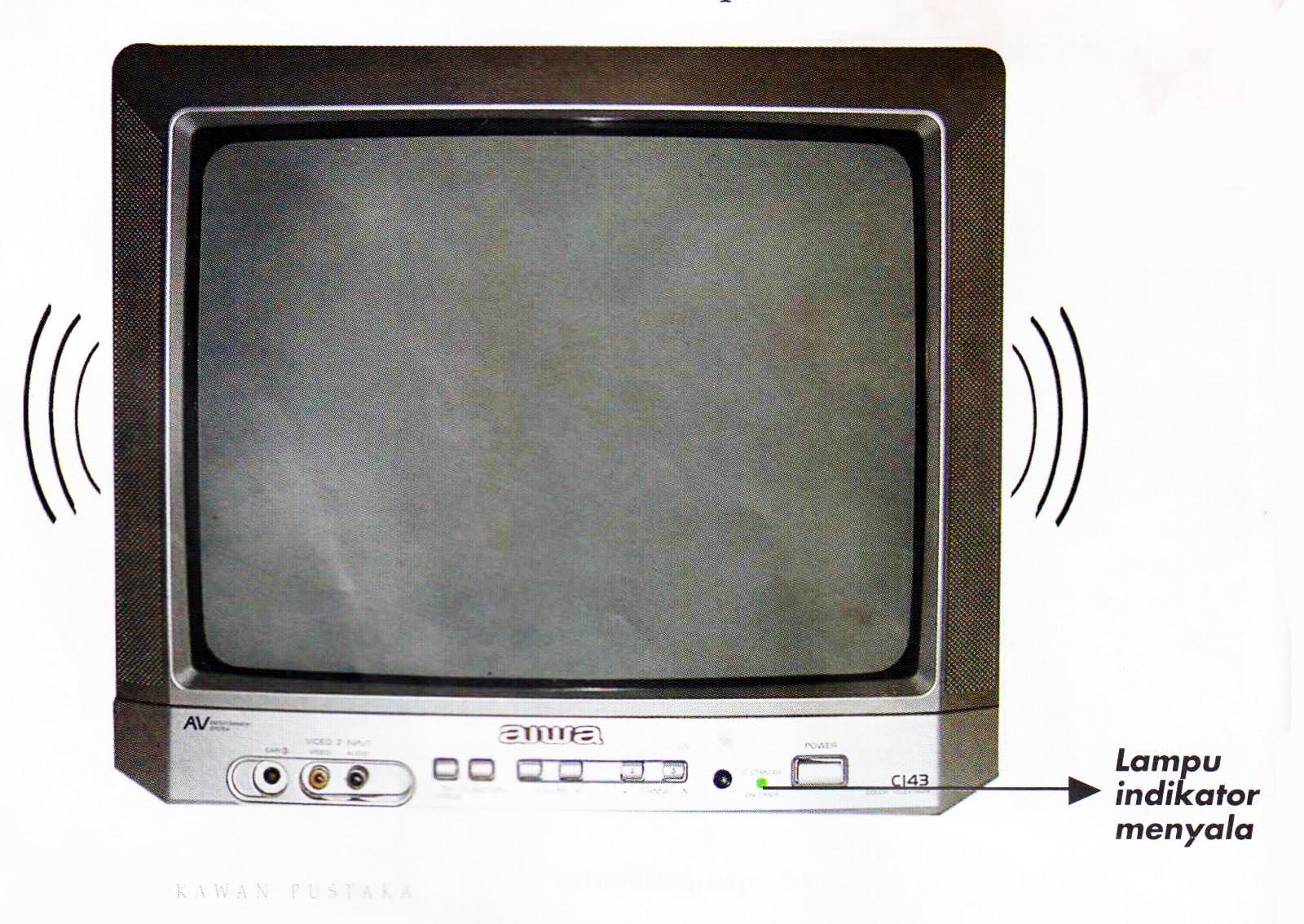 Tv Ada Suara Tidak Ada Gambar