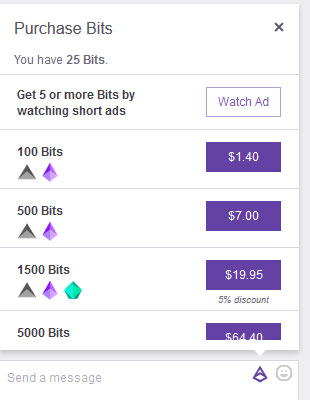Summary -> Twitch Bits To Usd Calculator What Is The Value Of A