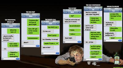 drunk texting viral social media trend