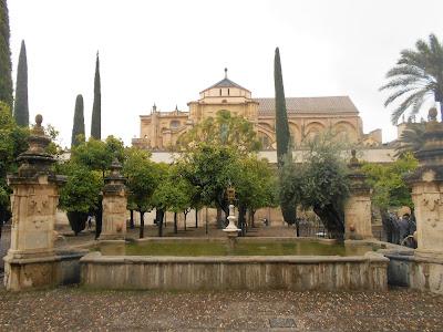Patio en la Mezquita de Córdoba