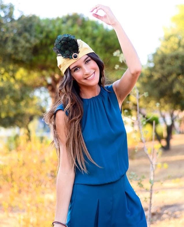 turbante invitada boda perfecta blog a todo confetti fiesta vestido