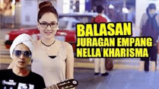 Lirik Lagu Balasan Juragan Empang - Nella Kharisma