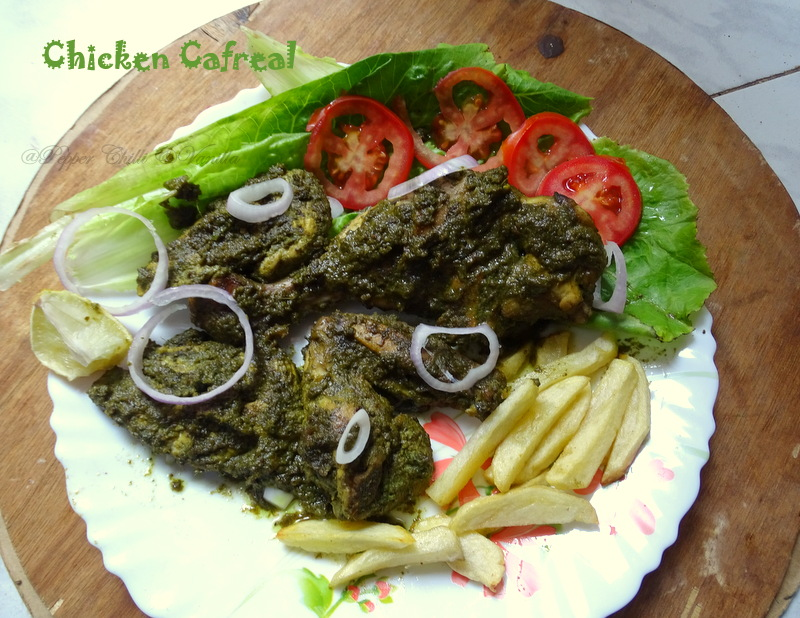 Chicken cafreal goan chicken cafreal pepper chilli and vanilla chicken cafrealgalinha cafreal is a very popular goan dish after goan sausages s a must try dish when you visit goa on our every visit to goa we always forumfinder Image collections