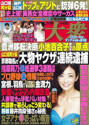 週刊大衆 2017年07月10日号 raw zip dl