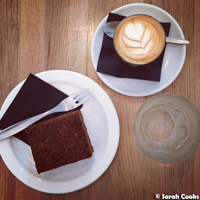 Coffee and Cake, KB Coffee Shop in Paris