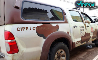 Cipe Chapada prende dupla
