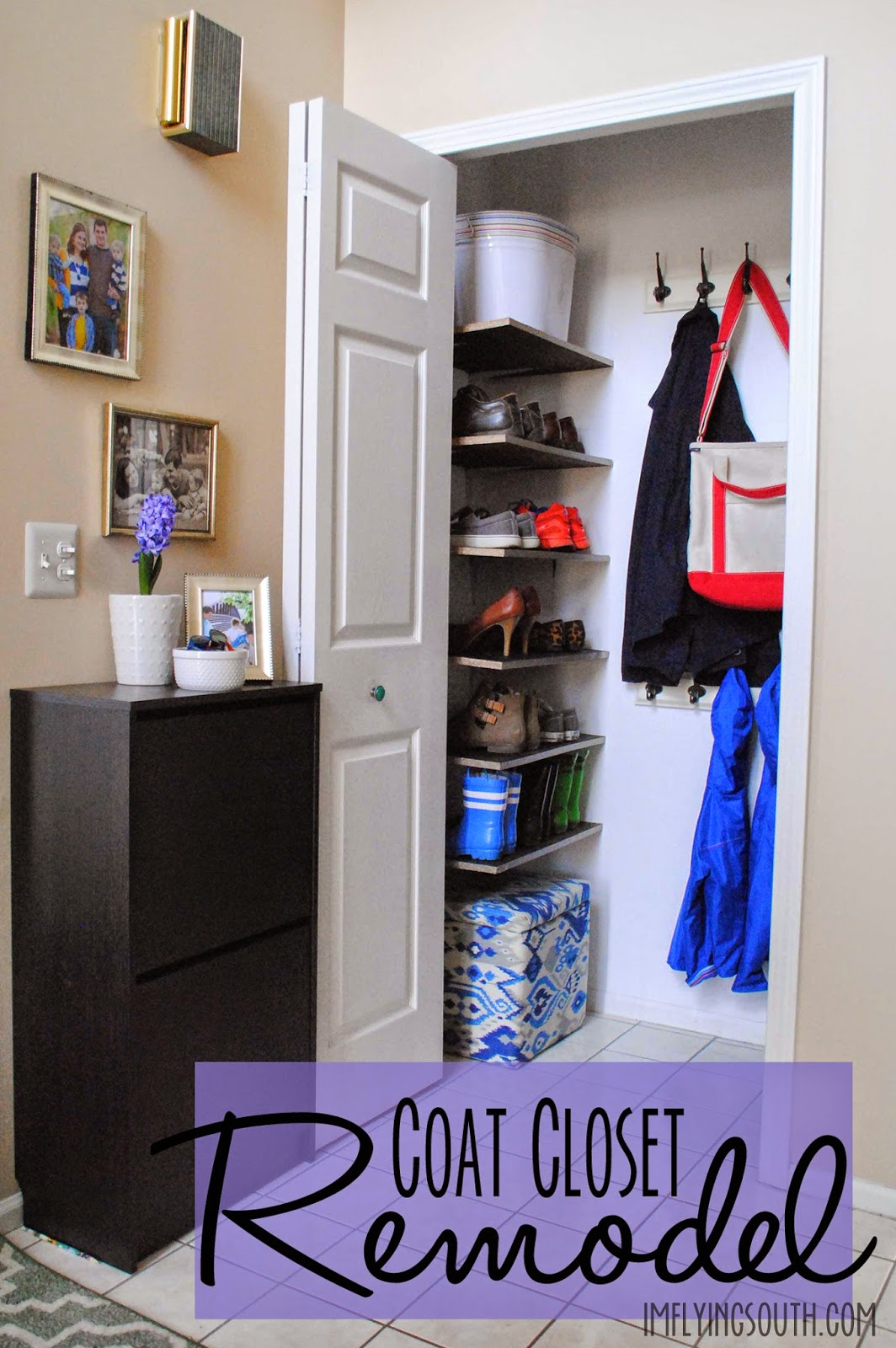 A Little Coat Closet Remodel Has Been In The Cards Since About Minute We Closed On House Both Entrances To Our Are Through Foyer