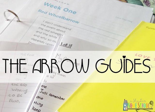 BraveWriters Language arts program, the Arrow. Review from a muslim home school
