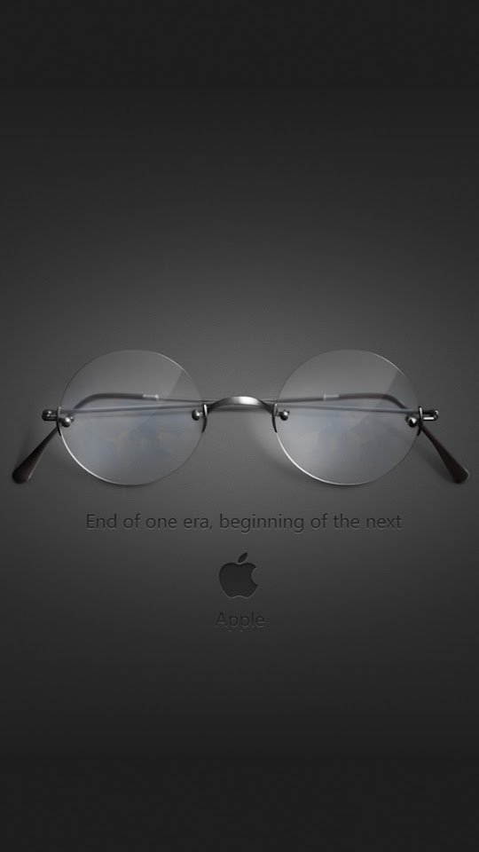 Steve Jobs Glasses Homage  Galaxy Note HD Wallpaper