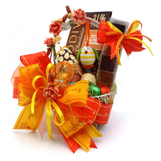 Easter gifts hampers dubai uae the m gift shop dubai gifts godiva easter metal basket large negle Gallery