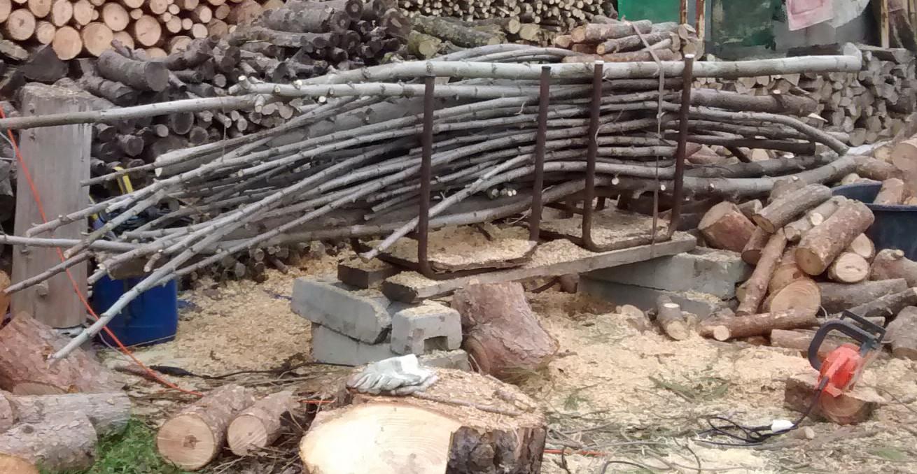 Grinchou blog chevalet de tron onnage simple et efficace pour couper son bois de chauffage - Machine couper bois chauffage ...