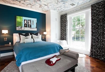 Perfecto Dormitorio Con Muebles De Negro Imagen - Muebles Para Ideas ...