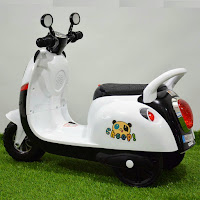 motor mainan aki junior scooter