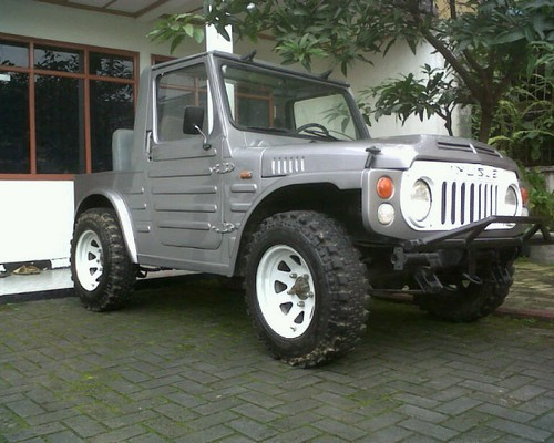 Modifikasi jimny trepes katana gx sj410 long jangkrik ...