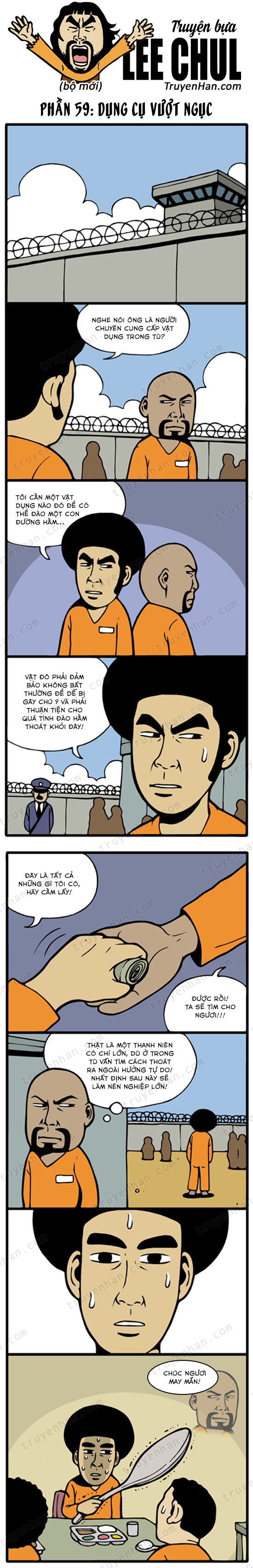 Lee Chul (bộ mới) phần 59: Dụng cụ vượt ngục