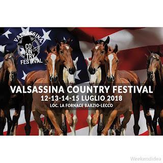 Valsassina Country festival dal 12 al 15 luglio Barzio (LC)