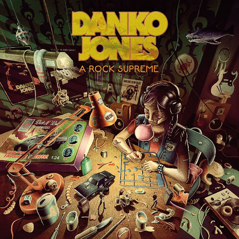 Danko Jones 'A rock Supreme'