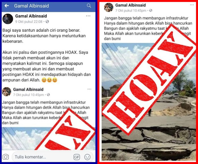 Gabung Timses Prabowo-Sandi, Gamal Albinsaid Langsung Kena Serangan Hoax