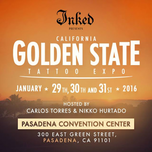 PASADENA TATTOO CONVENTION GOLDEN STATE EXPO 2017