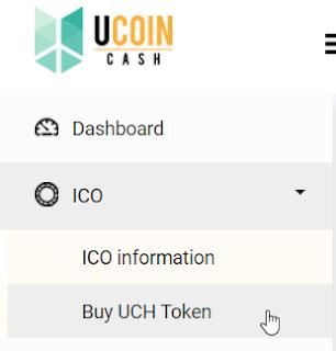 Cara Deposit UcoinCash (UCH)