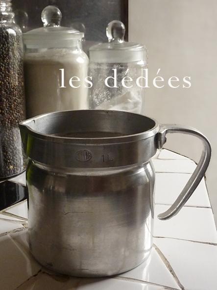 les dedees vintage recup creations deco les pots a lait en alu by ben. Black Bedroom Furniture Sets. Home Design Ideas
