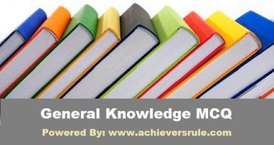 General Knowledge MCQ For SSC CGL - Set 12