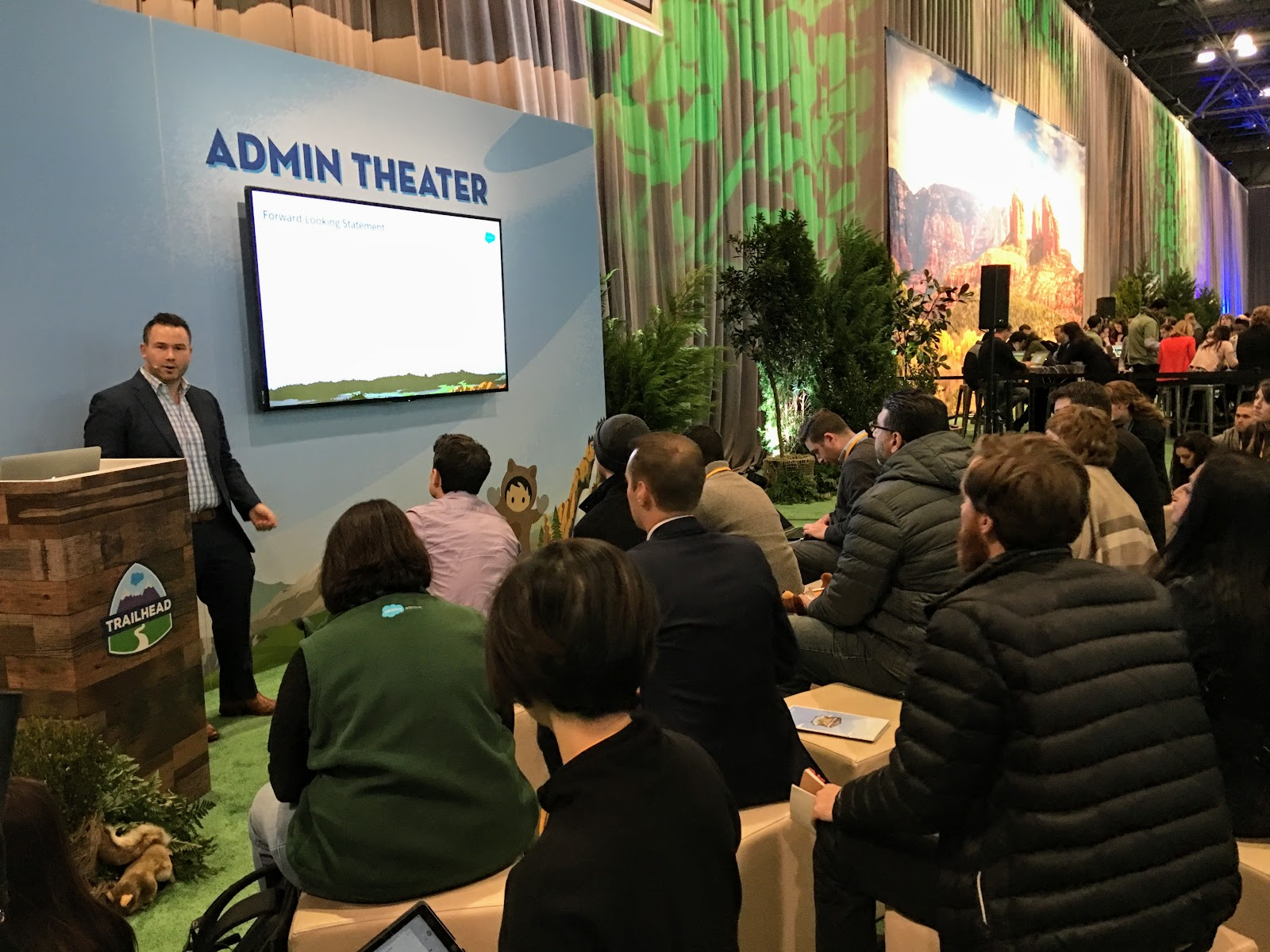 Tigh Loughhead Speaking at the Salesforce World Tour about Lightning