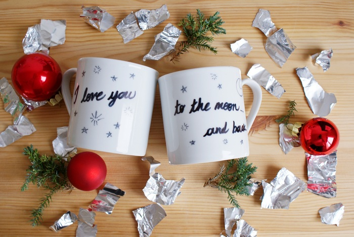 diy couple quote mugs francinesplace