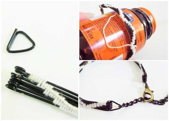 pulsera, brazalete, tejida, bisuteria, wowen, wire, bracelet