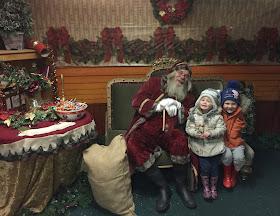 whitehouse farm santa winter wonderland review