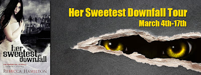Blog Tour: Sweetest Downfall by Rebecca Hamilton *Revew, Giveaway, Rebecca's Fave Books*
