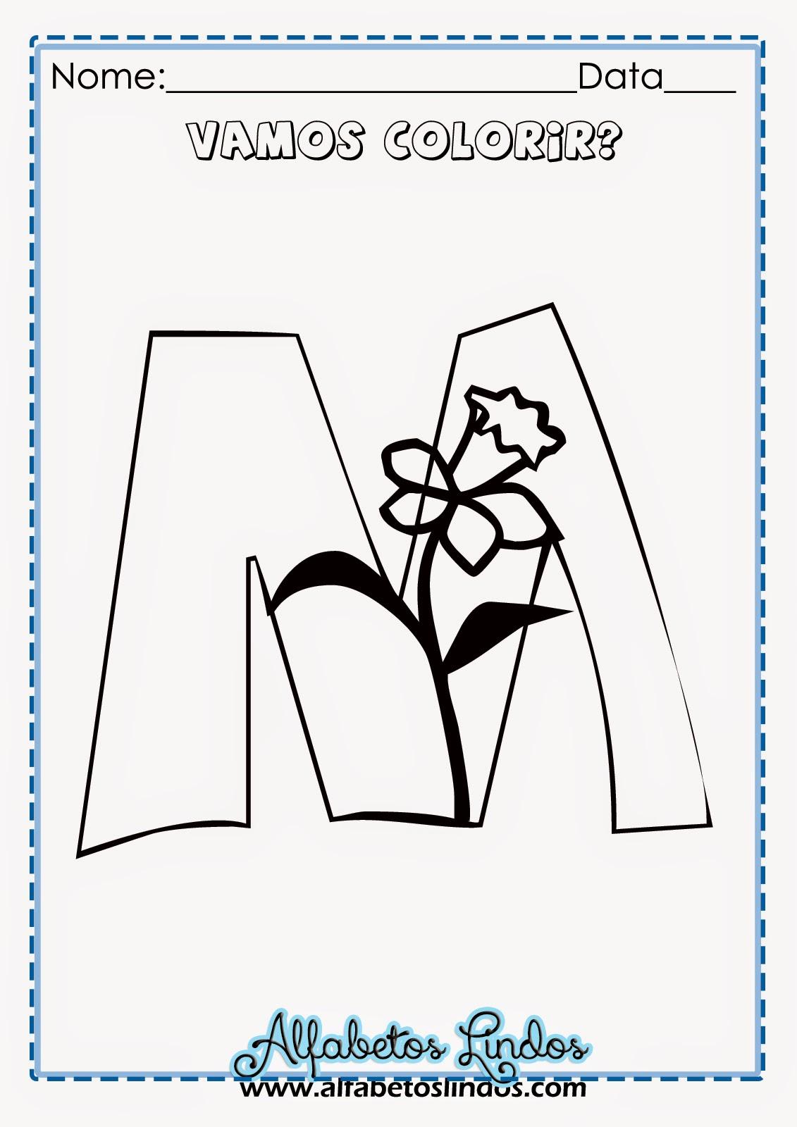 Do Letras Imprimir Para Alfabeto