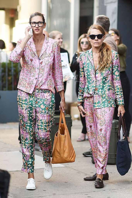 NYFW Street Style Jenna Lyons and Courtney Crangi