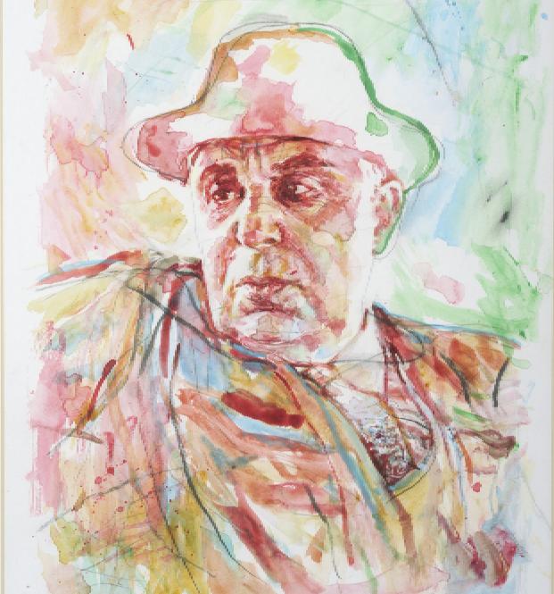 Αποτέλεσμα εικόνας για Γιάννης Ψυχοπαίδης, Πορτρέτο Γιώργου Σεφέρη. Πηγή: www.lifo.gr