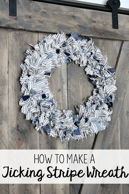 how-to-make-a-ticking-stripe-fabric-wreath