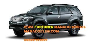 SEWA MOBIL MANADO MURAH