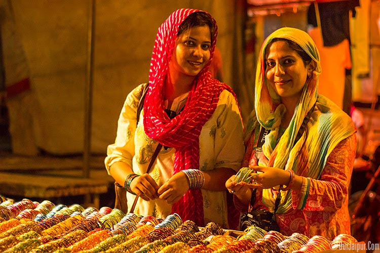 Bangle Shopping during the holy month of Ramzan.