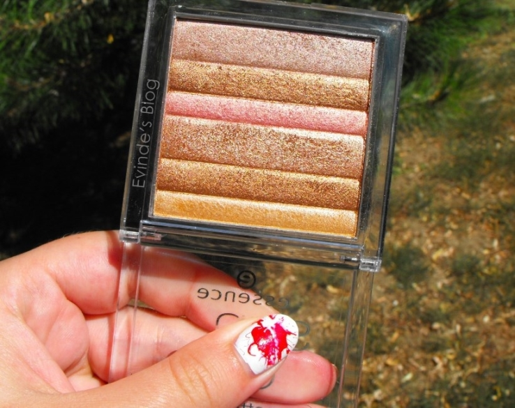 Essence Sun Club Allover Shimmer Palette Miami Heat