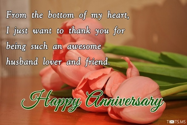 Wedding anniversary quotes for husband with unique