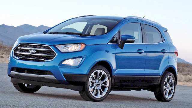 New 2017 Ford EcoSport Blue image