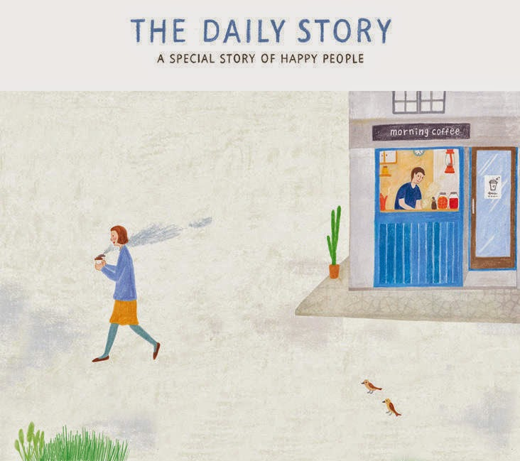 The Daily Story - pura felicità stampata su carta