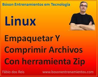 Cómo Empaquetar Y Comprimir Archivos Con la herramienta Zip En Linux