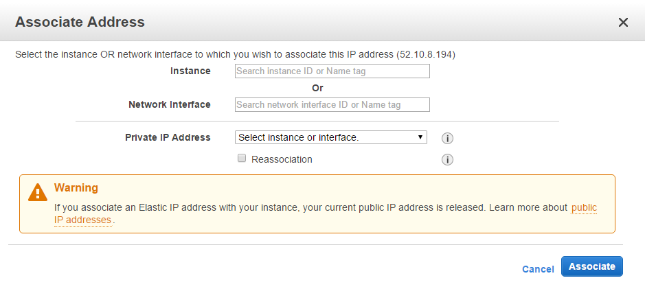 Assigning multiple IP addresses to a single Amazon EC2 instance on a