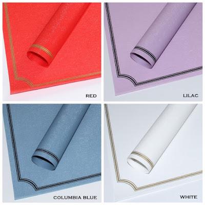 Kertas Buket Bunga / Flower Bouquet Wrapping Paper (Seri FLS-003)